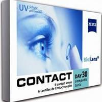 Линзы для глаз торические Zeiss CD 30 Compatic Bio toric