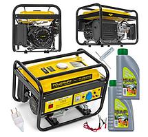 Бензиновий електрогенератор AVR 230V 3 кВт