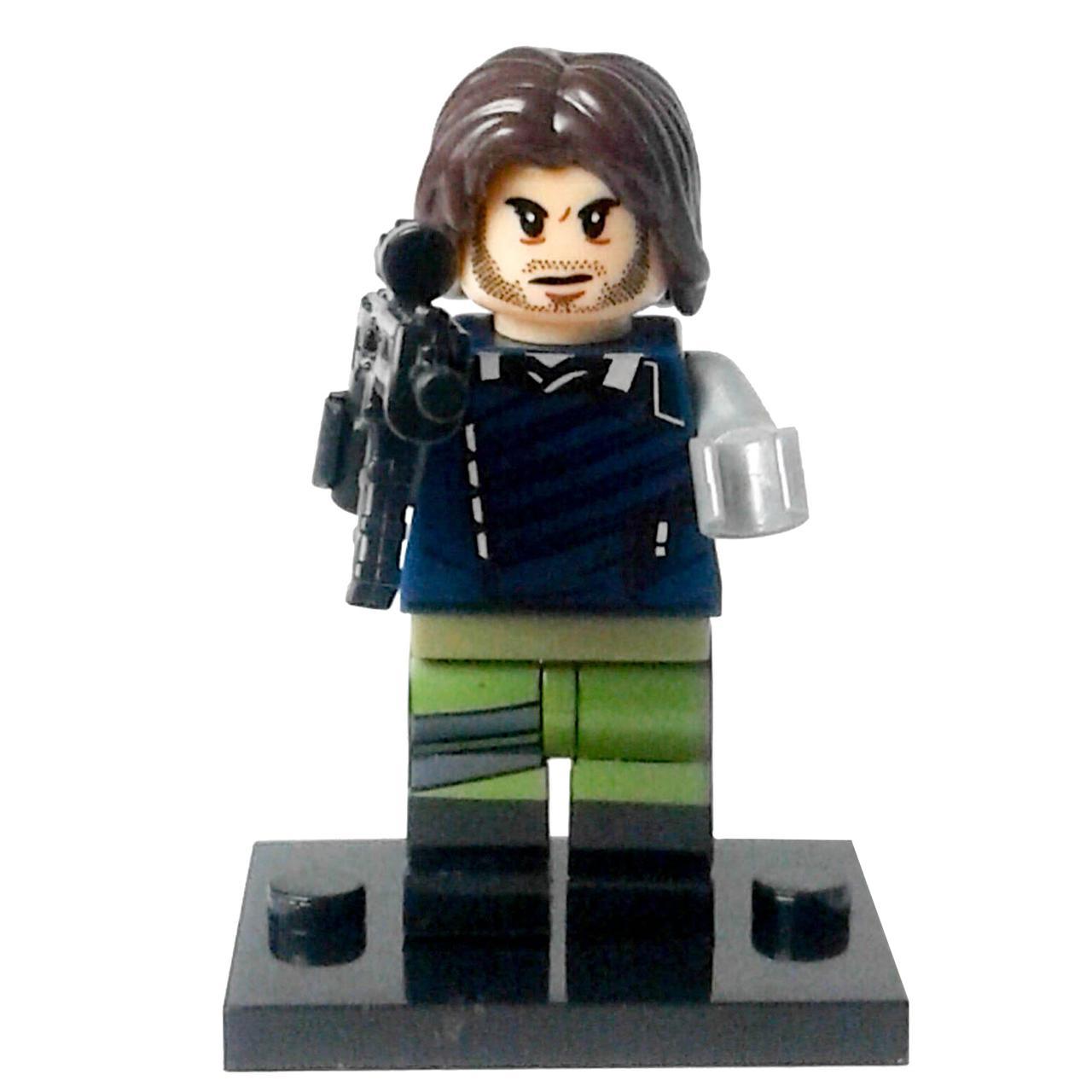 Зимний солдат Супергерой Марвел Мстители Аналог лего
