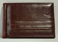 Зажим для денег P.T.K.-1 Collection Eligius (кож. зам.), COF-1009, Коричневый