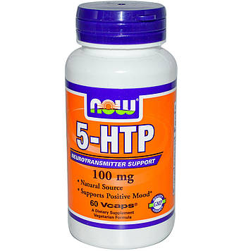 5-HTP 100 mg (60 vcaps) NOW