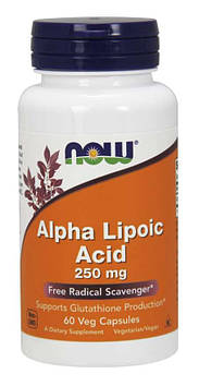 Alpha Lipoic Acid 250 mg (120 veg caps) NOW