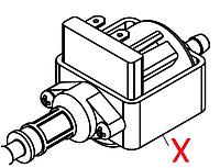 12001212 Мікропомпа Ulka  пластик HF, 230V, 50HZ, 22W, Aulika