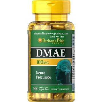 DMAE 100 mg (100 caps) Puritan's Pride