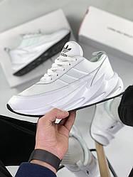 Женские и мужские кроссовки adidas Shark white