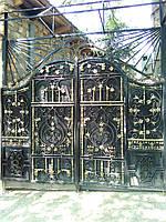 Кованых изделий: решетки, ворота, калитки, заборы, перила, балконы, лестницы, навесы, козырьки, беседки, карка