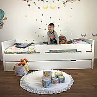 Кровать одноярусная подростковая деревянная FeliFam Modern
