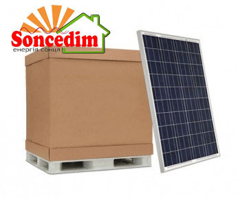 30,24 кВт сонячних батарей Risen RSM60-6-280P (108 шт.)