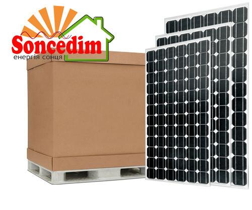 30,3 кВт сонячних батарей ABI-Solar АВ310-60MHC, MONO ( 98шт )