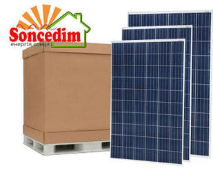 30,2 кВт сонячних батарей Hanwha Q CELLS GmbH 285W PERC ( 106шт )