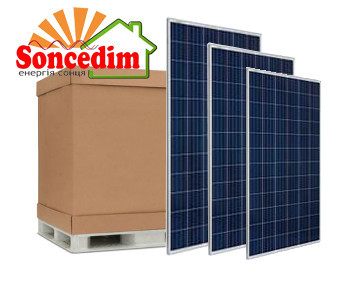 Комплект сонячних батарей Risen RSM72-6-335W Poly ( 30шт )