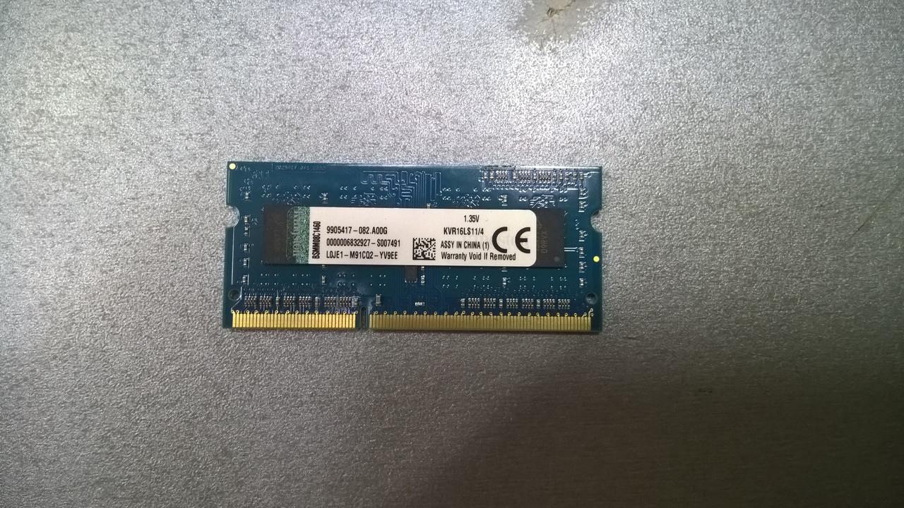 Оперативная память Kingston (KVR16LS11/14) 1.35V