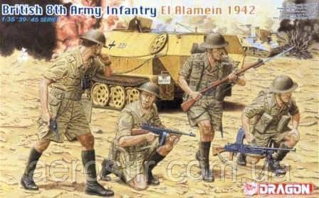 British 8th Army Infantry El Alamein 1942 1/35 Dragon 6390