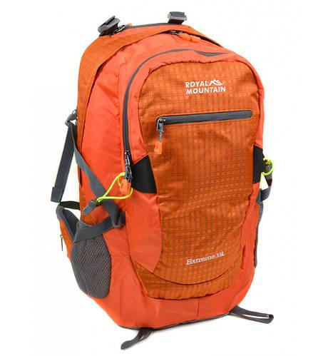 Вместительный туристический рюкзак 35 л. Royal Mountain 4096 orange оранжевый