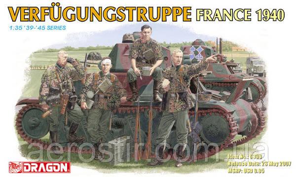 Verfugungstruppe France 1940 1/35 Dragon 6309