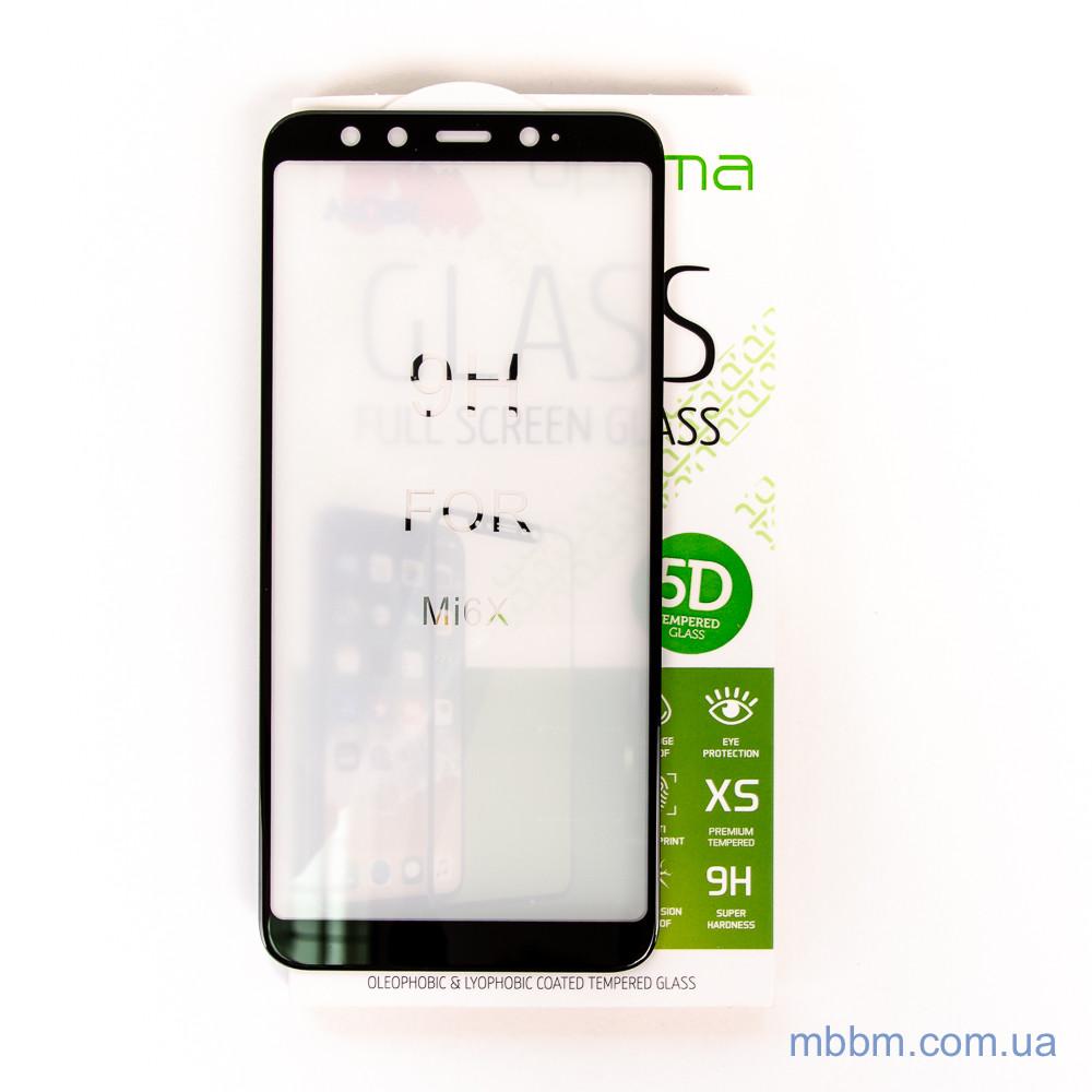 Защитное стекло Optima 5D Xiaomi Mi A2 black