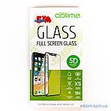 Защитное стекло Optima 5D Xiaomi Mi A2 black, фото 2