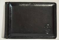 Зажим для денег P.T.K.-1 Collection Eligius (кож. зам.), BL-1001, Черный