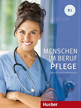 Книга Menschen im Beruf: Pflege B1 mit Audio-CD