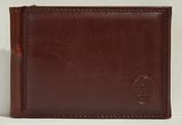 Зажим для денег P.T.K.-1 Collection Eligius (кож. зам.), COF-1005, Коричневый