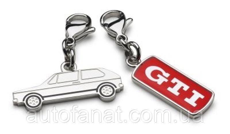 Оригинальный набор из двух брелоков для ключей Volkswagen GTI Keyring Set (5KA050850)
