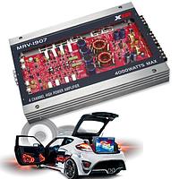 Насладись невероятным звучанием • 4-канальный автомобильный усилитель звука / Автоусилитель / Усилок в машину