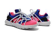 Женские кроссовки Nike Air Huarache NM розовые, фото 1