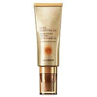 Улиточный солнцезащитный крем The Saem Snail Essential EX Wrinkle Solution Sun Cream SPF50+ PA++++, 40 мл (WS092100248)