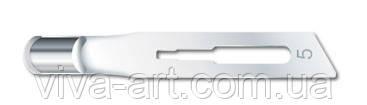 Стерильные полые лезвия № 5 с креплением стандарт №3 упаковка