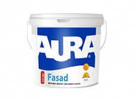 Краска фасадная водно-дисперсионная акриловая для наружных работ AURA Fasad 1,4кг