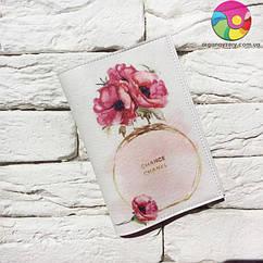Обложка для паспорта Шанель
