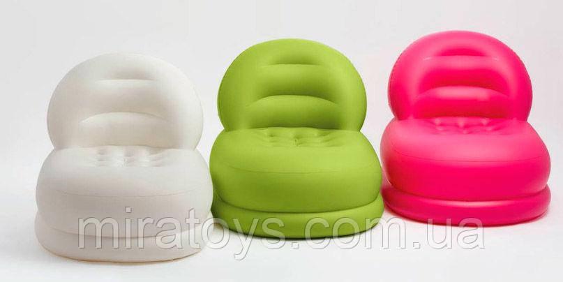 ✅Надувное кресло Intex 68592, 99 х 84 х 76 см