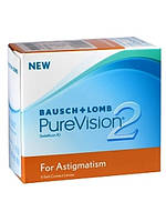 Линзы для глаз PURE VISION 2 TORIC