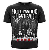 "ФУТБОЛКА HOLLYWOOD UNDEAD ""DAY OF THE DEAD"", фото 1"