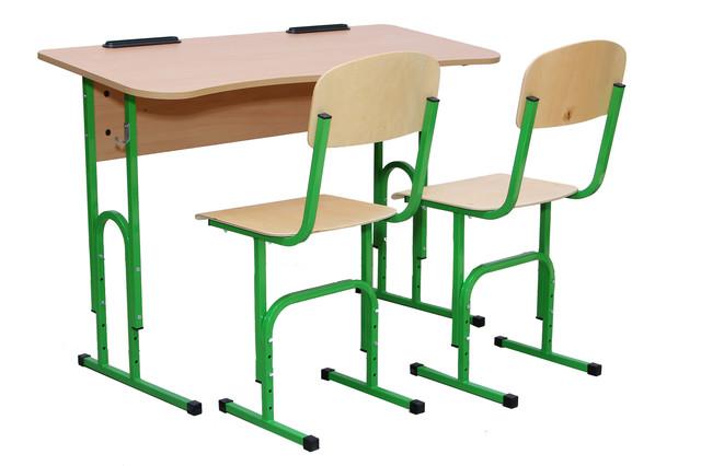 Парты и комплекты школьные, ученические, аудиторные