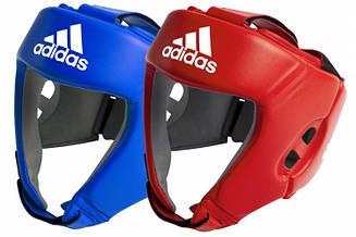Шлем AIBA красный/синий