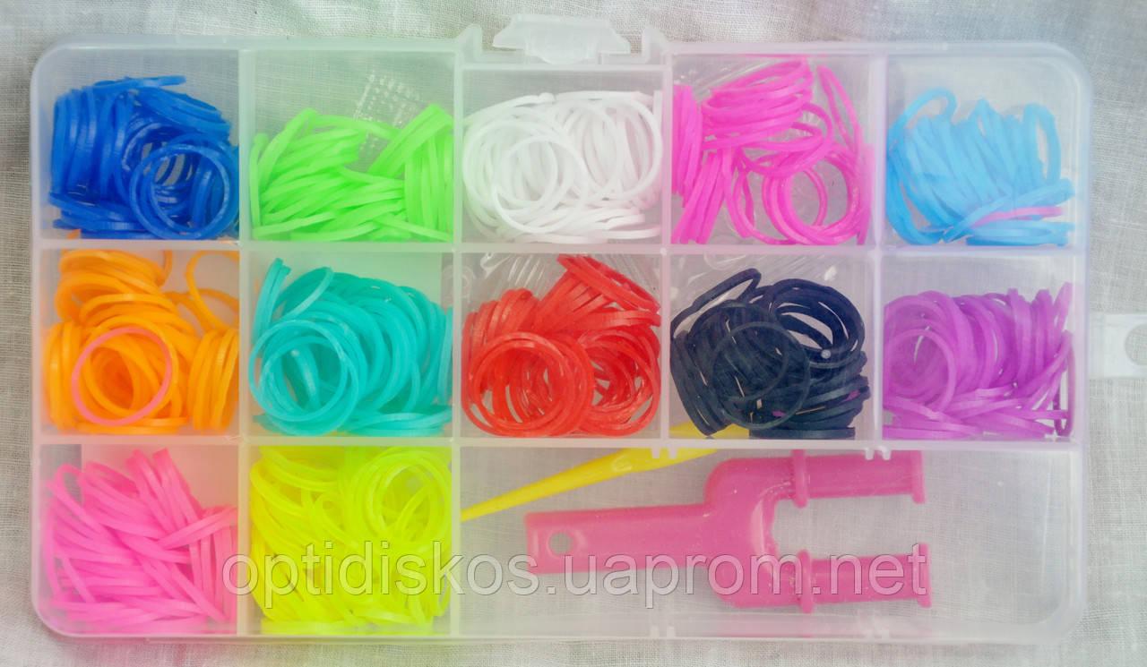 Гумки для плетіння - Набір 12 кольорів №4