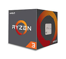 Процессор AMD (AM4) Ryzen 3 1200, Box, 4x3,1 GHz (Turbo Boost 3,4 GHz), L3 8Mb, Summit Ridge, 14 nm, TDP 65W (