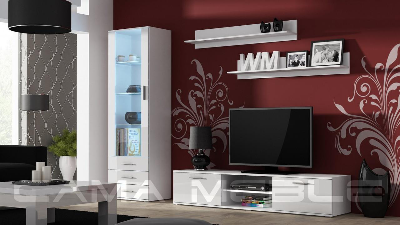 Гостиная Soho 1 Cama белый/белый глянец