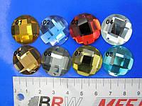Камни пришивные стекло