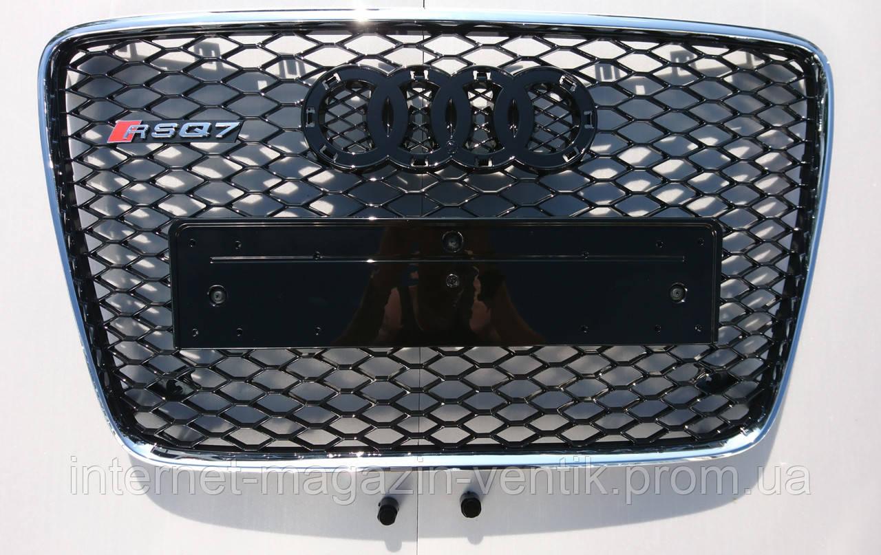 Решетка радиатора Audi Q7 12-15 стиль RSQ7