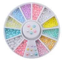 Карусель жемчужинки разноцветные