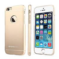 Чехол TOTU Jaeger для iPhone 6 Gold металлический