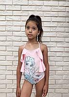Детский купальник для девочки 104, 110, 116, 128 см