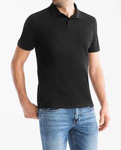 Чистое черное мужское поло СandA оригинал
