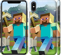 Чехол на iPhone XS Max Minecraft 4