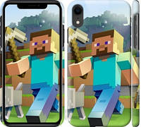 Чехол на iPhone XR Minecraft 4
