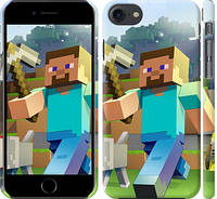 Чехол на iPhone 7 Minecraft 4
