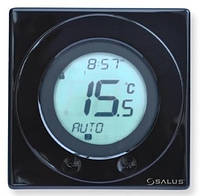 Salus ST320PB терморегулятор сенсорный для котла (черный)