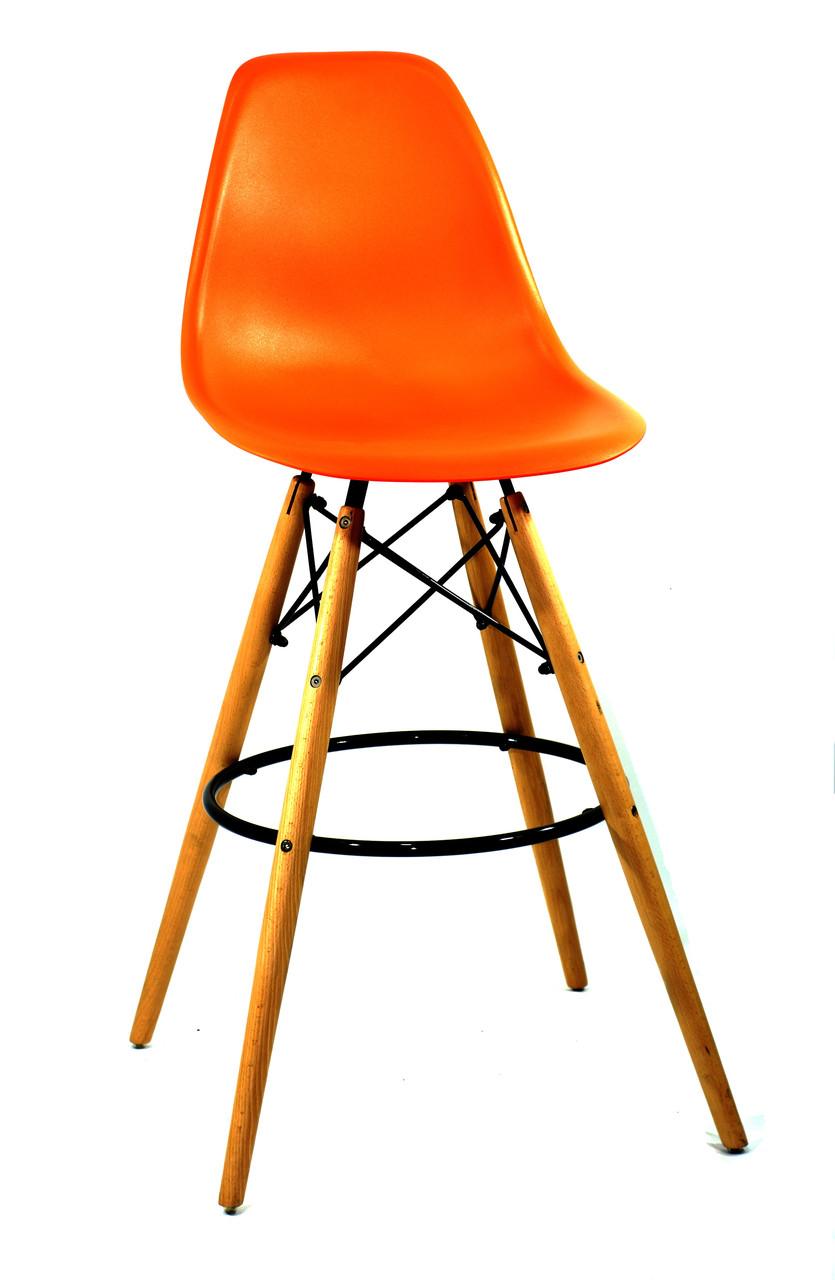 Полубарный стілець Nik Eames, помаранчевий